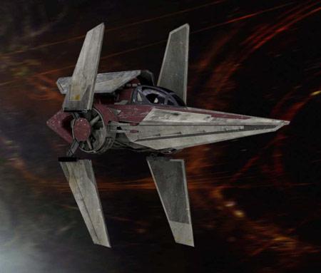 Ein V-Wing der Alten Republik
