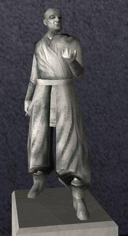 Eine Statue Ajunta Palls