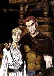 Kol mit seinem Sohn Cade