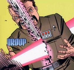 Grammel wird von Darth Vader ermordet