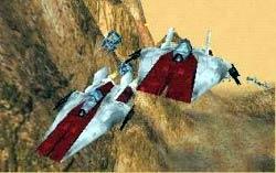 A-Wings der Sonderstaffel auf Chorax