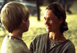 Anakin mit seiner Mutter nach dem Boonta Classic
