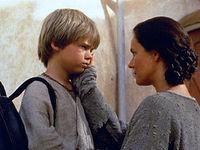 Anakin will seine Mutter nicht verlassen