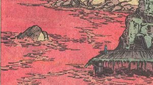 Die Ufer vom Rubyflame See