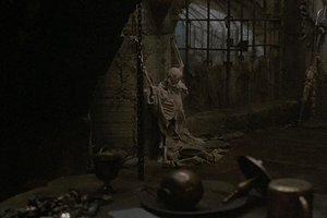 Salak Skelett im Kerker von Teraks Festung