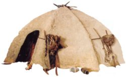Ein Urtya-Zelt