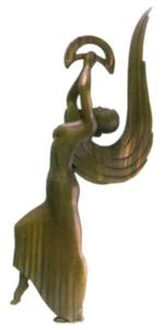 Eine Shiraya-Statue