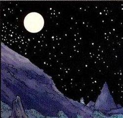 Karsten am Nachthimmel von New Plympto