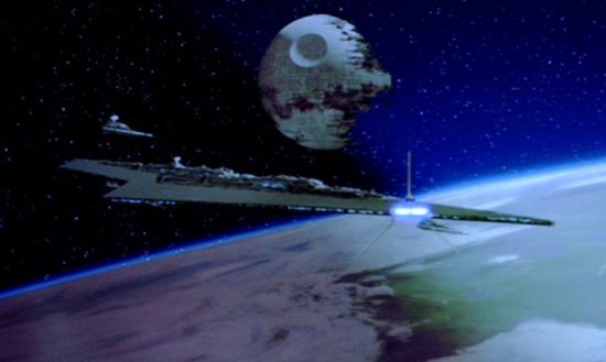 Zwei 'Superwaffen' des Imperiums: Die Executor und der zweite Todesstern