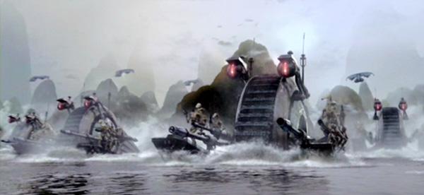 NR-N99 Panzerdroiden greifen Kachirho an