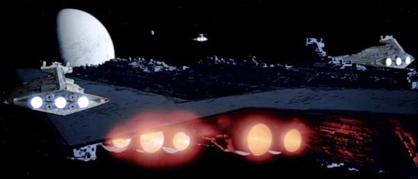 Das Todesgeschwader im Anflug auf Hoth