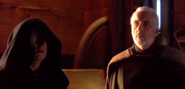Darth Sidious und Darth Tyranus