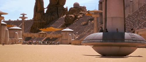 Das Podrennen auf Tatooine zum Boonta-Eve-Fest
