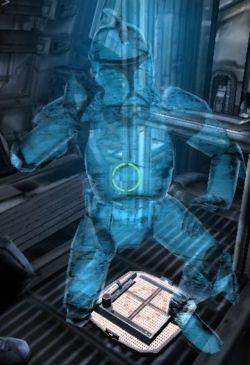 Ein Hologramm von CT-01/425