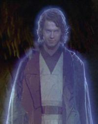 Anakin Skywalker erscheint seiner Tochter Leia