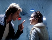Leia und Han streiten sich in der Rebellenbasis auf Hoth