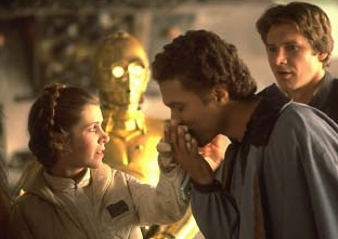 Leia trifft den charmanten Lando Calrissian