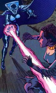 Leia wird von Lumiya angegriffen