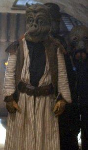 Ein H'nemhte in Jabbas Palast auf Tatooine