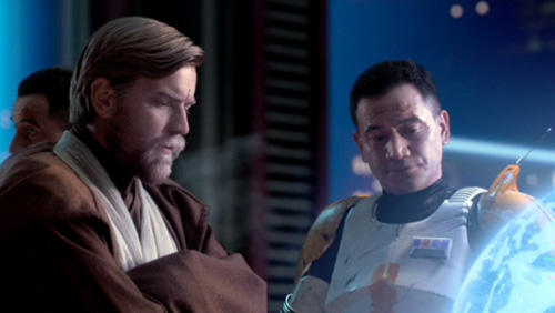 General Obi-Wan Kenobi und Commander Cody