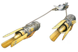 Anakin Skywalkers Podracer