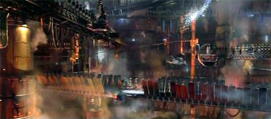 Eine Droidenfabrik von Baktoid Combat Automata.