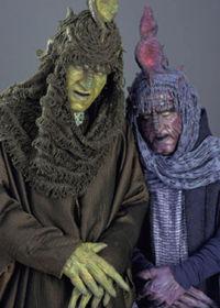 Der Magistrat Passel Argente (links) und seine Adjutantin Denaria Kee