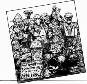 Die Besatzung der Free Lance