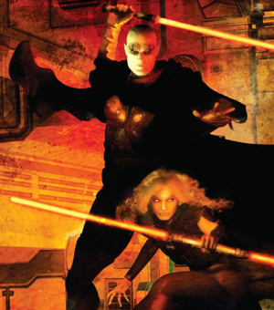 Darth Bane und Darth Zannah