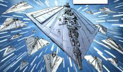 Die Dritte Flotte im Hyperraum