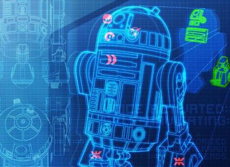 Holodaten einer R2-Einheit