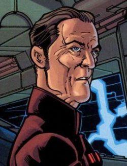 Ranulph Tarkin an Bord der Invincible