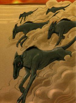 Eine Herde Schlitzerratten