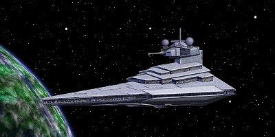 Ein Schiff der gleichen Klasse wie die Corusca-Feuer