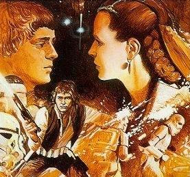 Leia, Han und Isolder