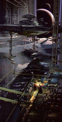 Die Dockanlage des Todessterns