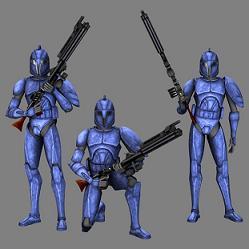 Drei Senats-Commandos