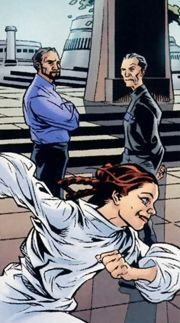 Leia, Bail Organa und Wilhuff Tarkin
