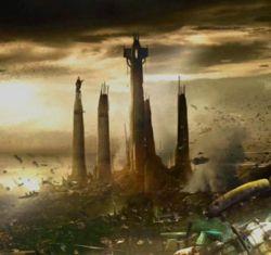Der Jedi Tempel von Raxus Prime