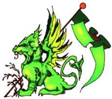 Das Wappen des Hauses Mecetti