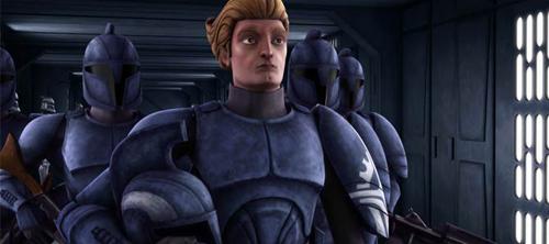 Captain Argyus und seine Senats-Commandos an Bord der Tranqility