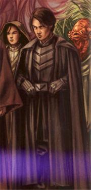 Jacen Solo, Leiter der GAG in seiner Uniform