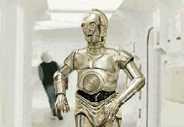U-3PO auf der Tantive IV