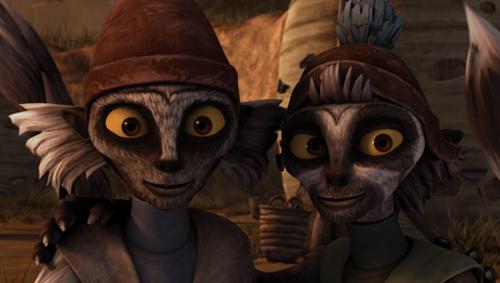 Wag Too (links) und sein Freund Tub (rechts).