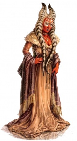 Eine weibliche Togruta