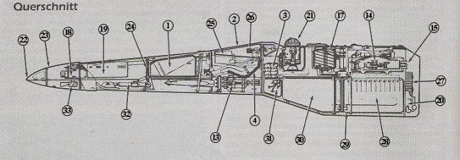 X-Wing Querschnitt
