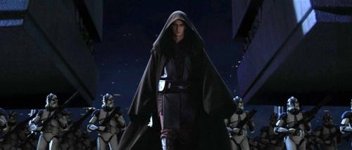 Darth Vader und die 501. Legion unmittelbar vor dem Angriff auf den Jedi-Tempel