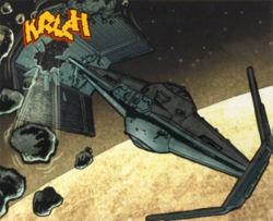 Darth Vader im Orbit um Vaal