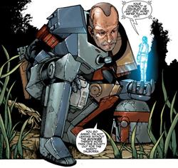 Braden wird von Commander Gin Lesl kontaktiert