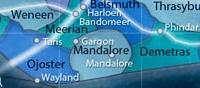 Mandalore und die umliegenden Systeme